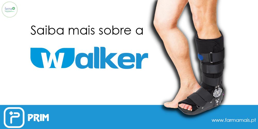 WALKER, a alternativa ao gesso